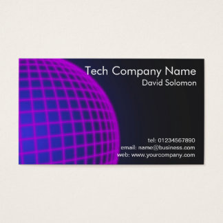 Technology Company Business Business Card