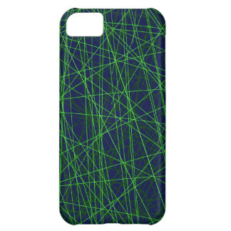 Technology Computer Nerd Lime Green Navy blue iPhone 5C Case