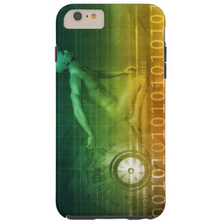 Technology Evolution with Man Evolving with System Tough iPhone 6 Plus Case