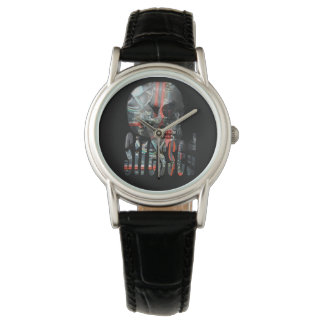 Technology Minded Skull Logo, Watch