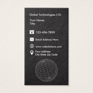 Technology Modern Businesscards Business Card