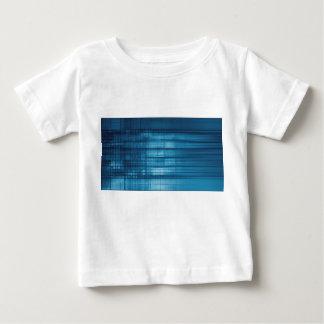 Technology Mosaic Background as a Tech Concept Art Baby T-Shirt