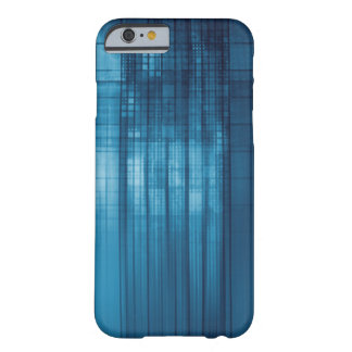 Technology Mosaic Background as a Tech Concept Art Barely There iPhone 6 Case