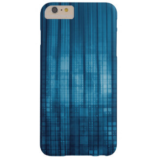 Technology Mosaic Background as a Tech Concept Art Barely There iPhone 6 Plus Case