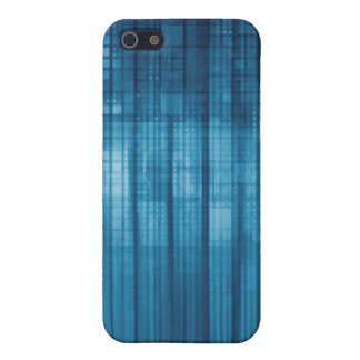 Technology Mosaic Background as a Tech Concept Art iPhone 5 Cases