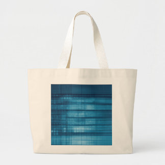 Technology Mosaic Background as a Tech Concept Art Large Tote Bag