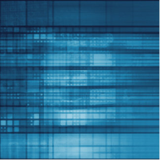 Technology Mosaic Background as a Tech Concept Art Photo Sculpture Badge