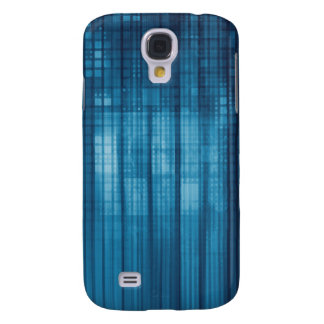 Technology Mosaic Background as a Tech Concept Art Samsung Galaxy S4 Covers