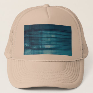Technology Mosaic Background as a Tech Concept Art Trucker Hat