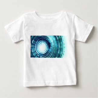 Technology Portal with Digital Circle Access Baby T-Shirt