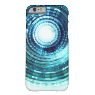 Technology Portal with Digital Circle Access Barely There iPhone 6 Case