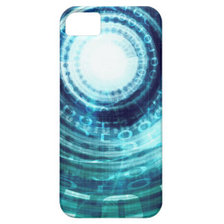 Technology Portal with Digital Circle Access Case For The iPhone 5