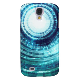 Technology Portal with Digital Circle Access Galaxy S4 Covers