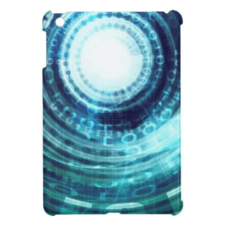 Technology Portal with Digital Circle Access iPad Mini Covers