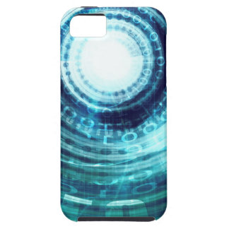 Technology Portal with Digital Circle Access iPhone 5 Cases