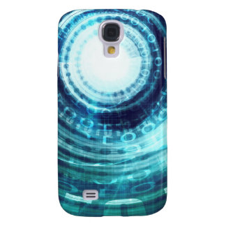 Technology Portal with Digital Circle Access Samsung Galaxy S4 Cover