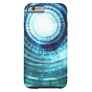 Technology Portal with Digital Circle Access Tough iPhone 6 Case