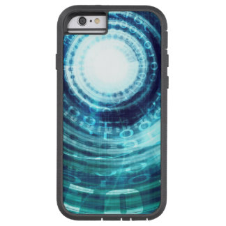 Technology Portal with Digital Circle Access Tough Xtreme iPhone 6 Case