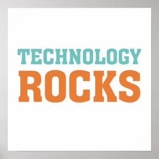 Technology Rocks Poster