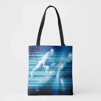 Technology Science as a Abstract Concept Tote Bag