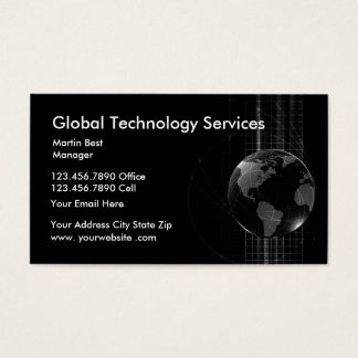 Technology Services Business Card