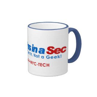 Techs in A Sec 15oz Mug (NYC Style)