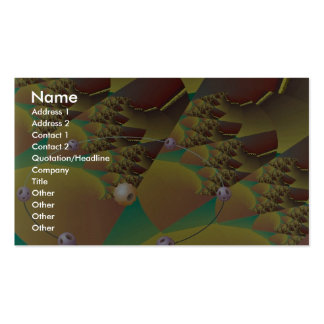 Tectonic movement Orbit Pack Of Standard Business Cards
