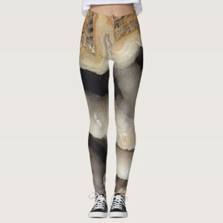 Tectosilica Silicified Coral Geology Leggings