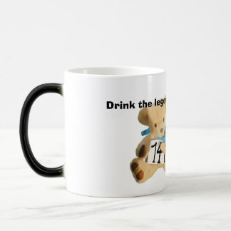 ted2 edit, Drink the legends drink Magic Mug