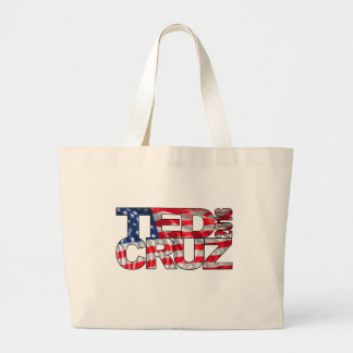 Ted Cruz 2016 (flag) Jumbo Tote Bag