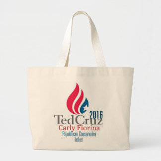 Ted CRUZ 2016 Jumbo Tote Bag