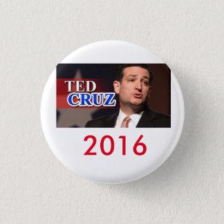 Ted Cruz 2016 Pinback Button