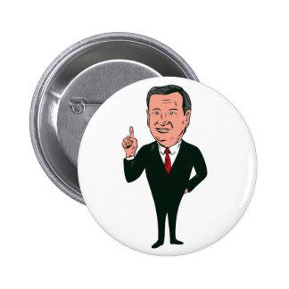 Ted Cruz 2016 Republican Candidate 6 Cm Round Badge