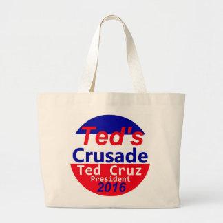 Ted CRUZ 2016 Jumbo Tote Bag