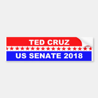 Ted Cruz 2018 Senate bumper sticker