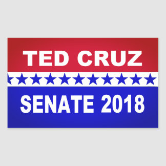 Ted Cruz 2018 Senate sticker