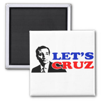 Ted Cruz 2 Inch Square Magnet