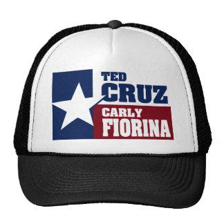 Ted Cruz and Carly Fiorina 2016 Cap