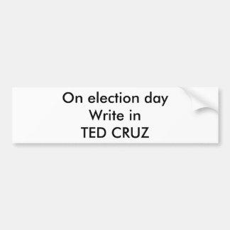 TED CRUZ BUMPER STICKER