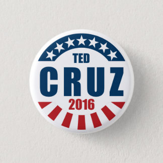 Ted Cruz for president 2016 3 Cm Round Badge