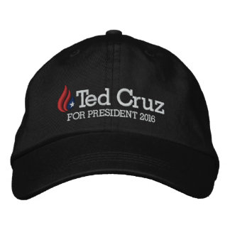Ted Cruz for President 2016 Embroidered Hat