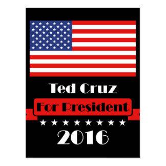 Ted Cruz for President 2016 Postcard