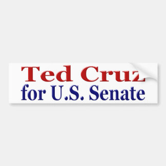 Ted Cruz for Senate Bumper Sticker