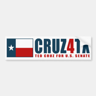 Ted Cruz for Texas Cruz4TX Bumper Sticker