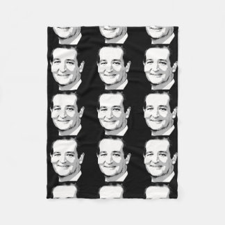 TED CRUZ PORTRAIT FLEECE BLANKET