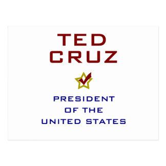 Ted Cruz President USA V2 Post Card