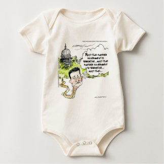Ted Cruz Slithers From Congress Funny Baby Bodysuit