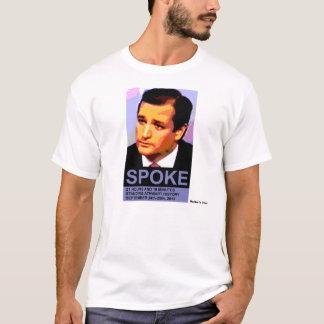 Ted Cruz Spoke, natural colors T-Shirt