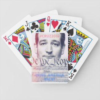 Ted Cruz - We the People Bicycle Playing Cards