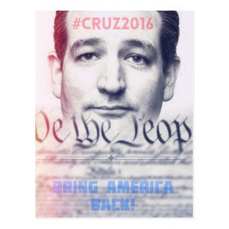 Ted Cruz - We the People Postcard